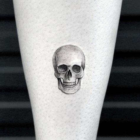 50 Small Skull Tattoos For Men Mortality Design Ideas Tattoo