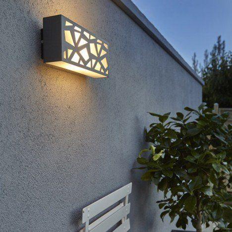 Facade A Composer Exterieure Switch Mozaic Anthracite Inspire Eclairage Exterieur Plafonnier Exterieur Luminaire Exterieur Design