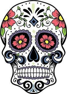 Tag der Toten Mexikanischer Totenkopf Shirt Frau Calavera Mexiko Ucult