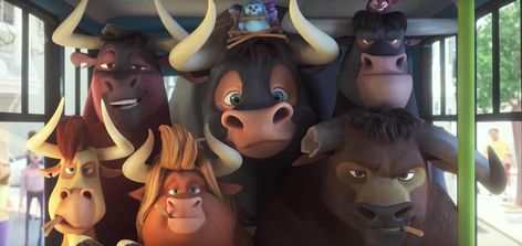 You can't judge a bull by it's cover. Watch this adorable bull in cinemas near you from Dec Rio Ice Age Movies