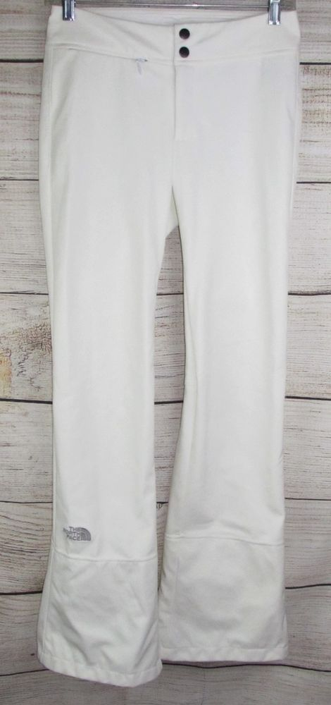 6358d1bb6 TNF The North Face womens APEX STH Pants S SMALL White Slim Ski Snow ...