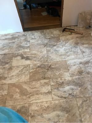 Smartcore Ultra 8 Piece 12 In X 24 In Florence Travertine Interlocking Luxury Vinyl Tile Lowes Com Luxury Vinyl Tile Luxury Vinyl Vinyl Tile