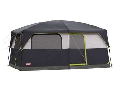 Coleman Stonewall Tent 9-Person Waterproof Family Tent w/ LED Lighting | Tents C&ing and C&ing stuff  sc 1 st  Pinterest & Coleman Stonewall Tent 9-Person Waterproof Family Tent w/ LED ...