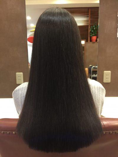 キレイ髪ストレート 柏美容室ハルール 髪 ストレート 縮毛矯正 ショート 美髪