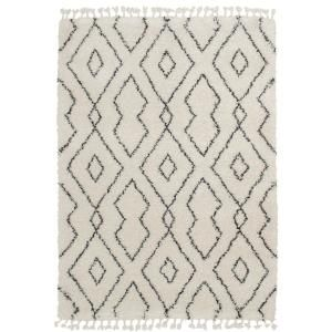 Unbranded Bazaar Alstead Ivory Grey 8 Ft X 10 Ft Geometric Polypropylene Area Rug 7805 101 65hd The Home Depot In 2020 Boho Area Rug Plush Area Rugs Area Rugs
