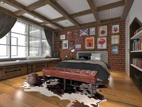 Dekorasi Kamar Minimalis Cowok Portofolio By Arch Id Interior