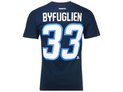 5ccc54f3dbc98 Winnipeg Jets Dustin Byfuglien Reebok NHL CN Player T-Shirt