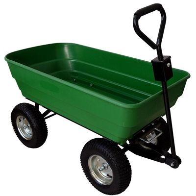 Pdg Garden Cart C6657 1 200 Lb Capacity Yard Cart Yard Cart Yard Carts Garden Cart