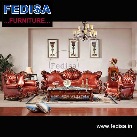 Leather Sofa Set Designs With Price In India Classic Sofa Set In 2019 Leather Sofa Set Sofa Set Designs Wooden Sofa Set