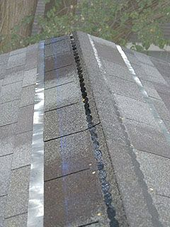 How To Shingle A Roof Ridge Cap Shingles Top Row Layout Details Preventing Moss And Fungus On Roof Shingling Roof Installation Galvanized Roofing