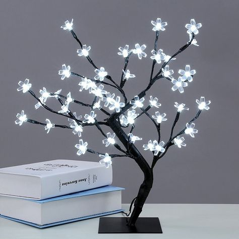 Crystal Cherry Blossom Tree Lamp   Tree lamp, Cherry blossom
