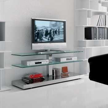 Meubles Tv Diotti Com En 2020 Meuble Tv Verre Meuble Tv Meuble Tv Roulettes