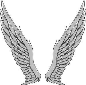 Wings Vector Element Wings Drawing Angel Wings Drawing Angel Wings Png