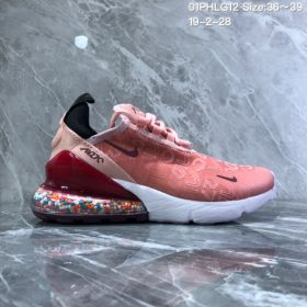 Nike Air 270 Flyknit WhiteColorful women's Running Shoes