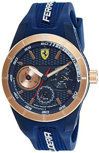 Ferrari Mens Watch Scuderia Ferrari Analog Casual Quartz Watch 0830379 Watches For Men Luxury Watches For Men Ferrari Watch