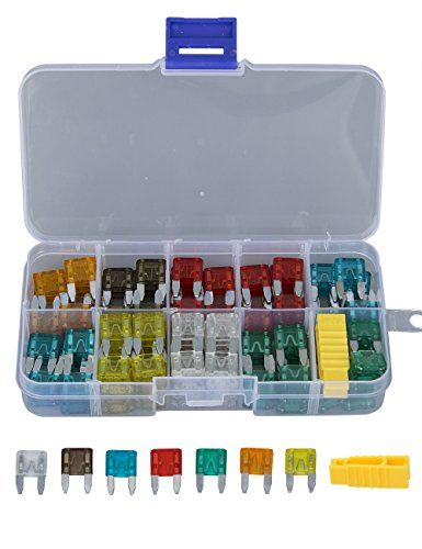 discounted wisse 420 pcs assorted automotive fuses kit, standard and Fuse Box Wiring