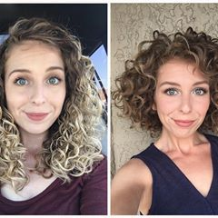 Long Hair Vs Short Hair I Find For My Curl Pattern 2c 3a That My Hair Tends To Get Weighed Down The Longer It G Long Hair Styles Curly