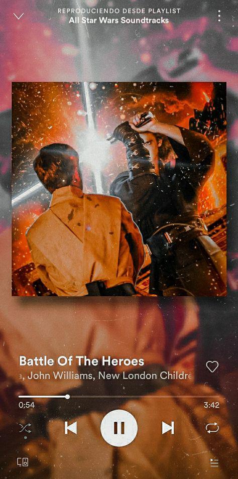 Wallpaper Star Wars/ Anakin vs Obi Wan
