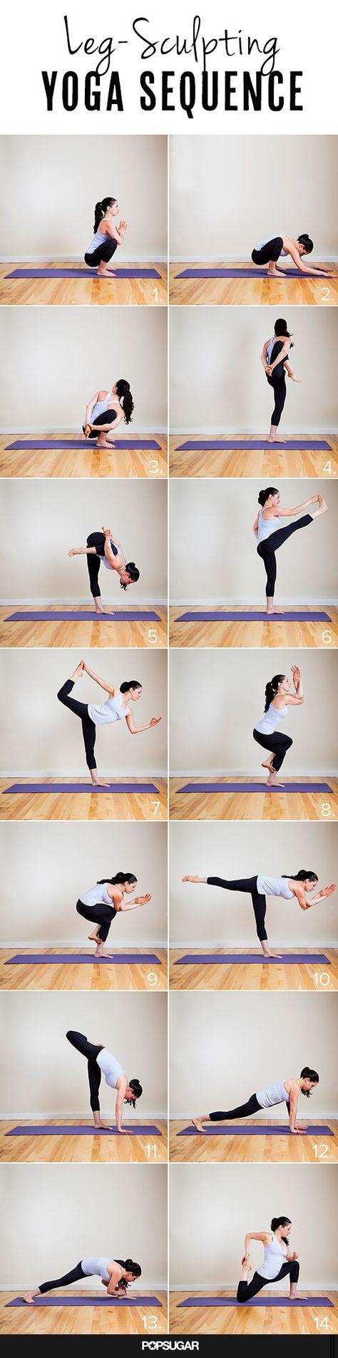 Leg Sculpting Yoga Sequence