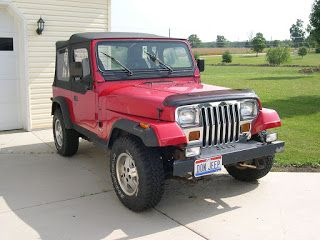 1995 Jeep Wrangler 1995 Jeep Yj Canada The Jeep Wrangler Was Marketed As Yj