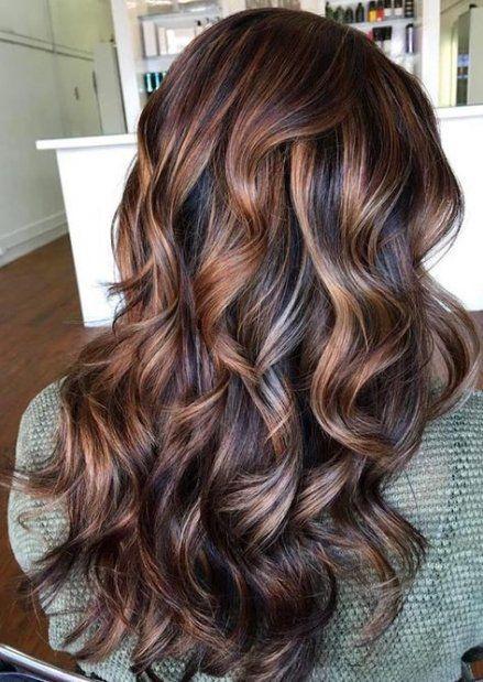 37++ Dark brown hair with auburn highlights trends