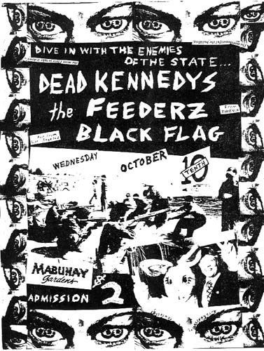 Photo of Old Punk Flyers