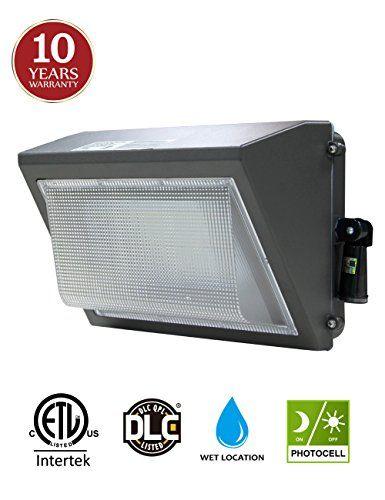 100w Led Wall Pack With Adjustable Dusktodawn Photocell 300400w Hpsmh Replacement Ip65 Rate Commercial Lighting Fixtures Commercial Outdoor Lighting Wall Packs