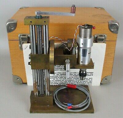 Ebay Ad Url Brazelton 80 Sensitive Modeler S Tilt Head Drill Press W Albrecht Keyless Chuck In 2020 Drill Press Keyless Drill