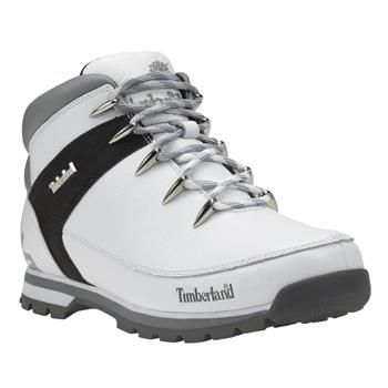 Hiker Homme Timberland Euro Sprint Blanc Chaussures WH2YE9DI