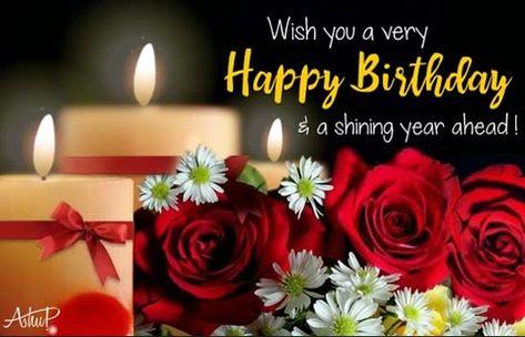 Showering Birthday Wishes & Blessings. Free Happy Birthday