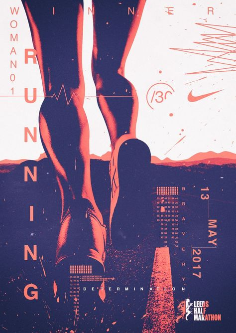 Marathon Posters Design Ideas - You are going to learn how to easily design a poster with a wonderful retro style. Nice techniques you could utilize t...