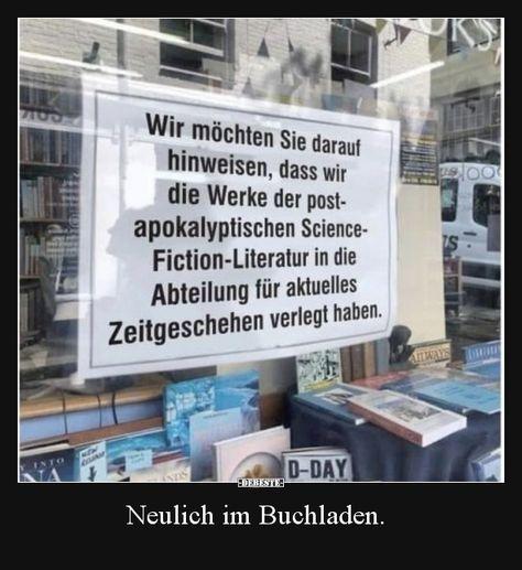 Neulich im Buchladen... | Lustige Bilder, Sprüche, Witze, echt lustig