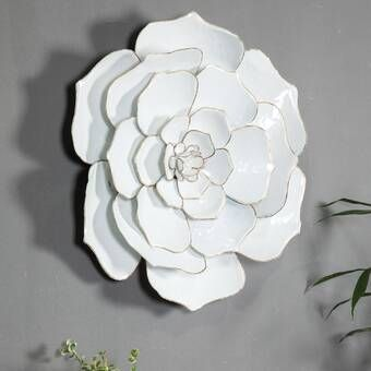 Lily Pad Metal Wall Decor In 2021 Metal Flower Wall Decor Flower Wall Decor Metal Wall Decor
