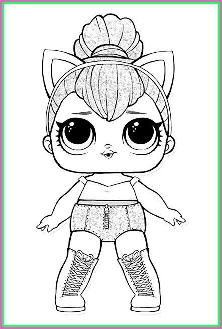 49+ Lol dolls coloring pages zip ideas in 2021