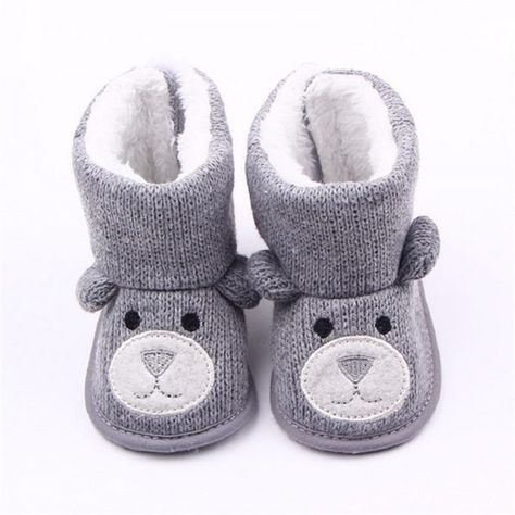 Baby Mädchen Jungen Winter Warme Stiefel Booties Säugling Kleinkind