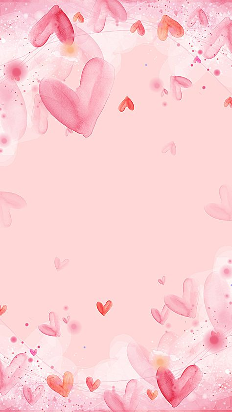 Pink love background simple and lovely fresh
