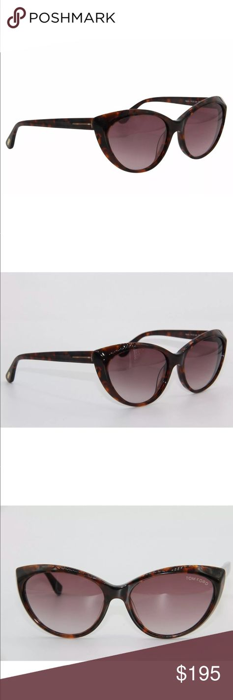 dcb6dea4611 Terrific Tom Ford Martina Havana Gradient New♥ Gorgeous Tom Ford Sunglasses.  Beautiful cat