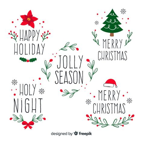 Discover thousands of copyright-free vectors. Graphic resources for personal and commercial use. Thousands of new files uploaded daily. Christmas Doodles, Christmas Drawing, Diy Christmas Cards, Noel Christmas, Retro Christmas, Christmas Printables, Christmas Decorations, Christmas Ornaments, Christmas Design