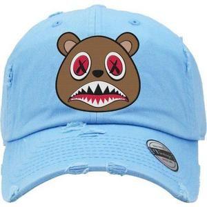 Baws White Crazy Baws Strapback Hat