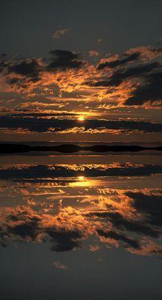 False Sunset Art Print by Andy Astbury - Beauty
