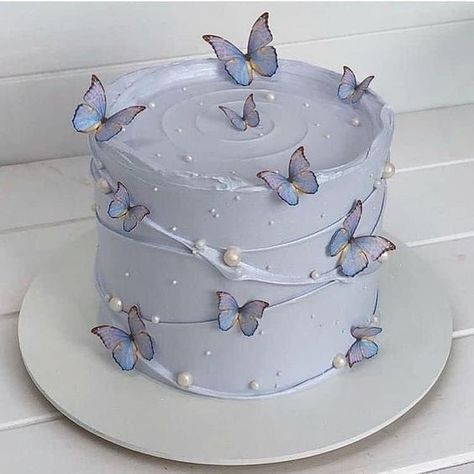 14th Birthday Cakes, Elegant Birthday Cakes, Pretty Birthday Cakes, Pretty Cakes, Beautiful Cakes, Amazing Cakes, Pastel Cakes, Cute Desserts, Just Cakes