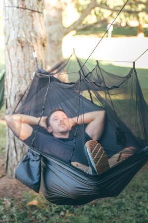 Summit Style's Nature Nest Hammock | Hammock camping, Travel hammock,  Hammock with mosquito net