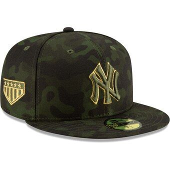 New York Yankees New Era Mlb Armed Forces Day On Field 59fifty Fitted Hat Camo Hats For Men New York Yankees Yankees Hat