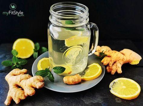 Gesunder Ingwer Und Apfelessig Drink Rezept Zum Selber Machen Rezept Ingwer Drink Apfelessig Trinken Abnehmen Apfelessig Trinken