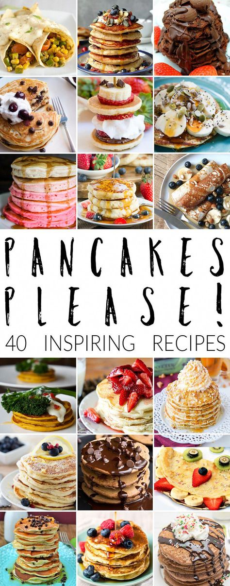 Pancake day ideas? Check out these FORTY inspiring recipes