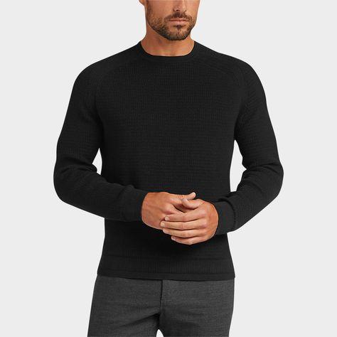 Buy a Awearness Kenneth Cole AWEAR TECH Black Sweater online