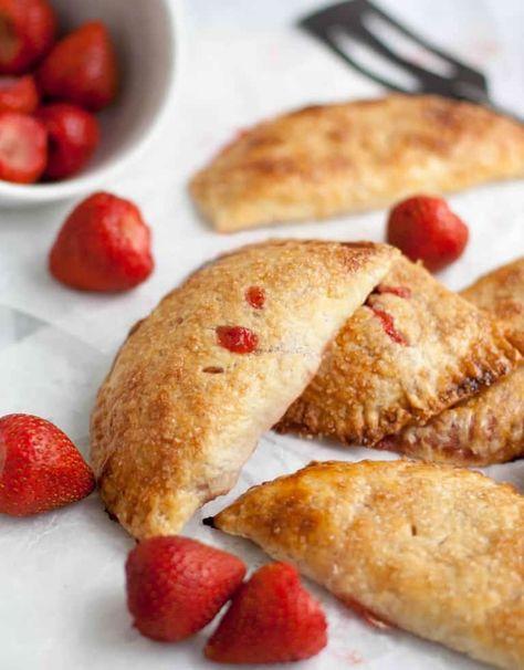 Strawberry Rhubarb Hand Pies-10