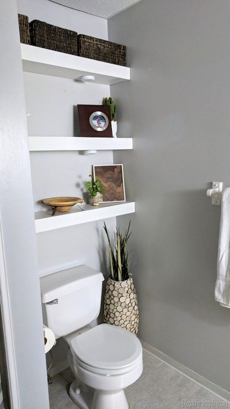 5 Wise Clever Ideas Floating Shelf Laundry Toilets Floating Shelf Diy Decorating Ideas Floatin Floating Shelves Floating Shelves Diy Floating Shelves Bathroom