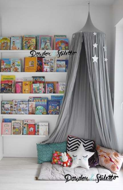 38 Ideas Diy Bedroom Kids Reading Nooks Diy Kid Room Decor
