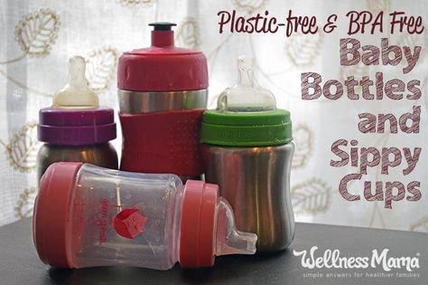 Plastic and the chemicals that compose it can be incredible dangerous to our health. As a family, we've made strides to decrease the amount of plastic items in our home, like toys, tupperware, and tools, with safe alternatives. One of the biggest replacements we wanted and needed to make was for our kids' bottles and sippy cups. Of course, our children's health is of highest priority, so we went searching for the best and most practical plastic free and BPA free products. Here's what we…